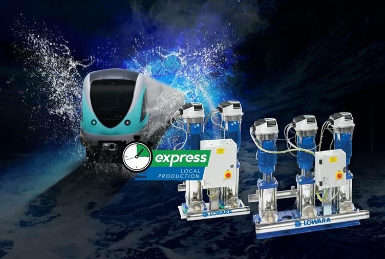 Xylem Express Speed Drive Booster set